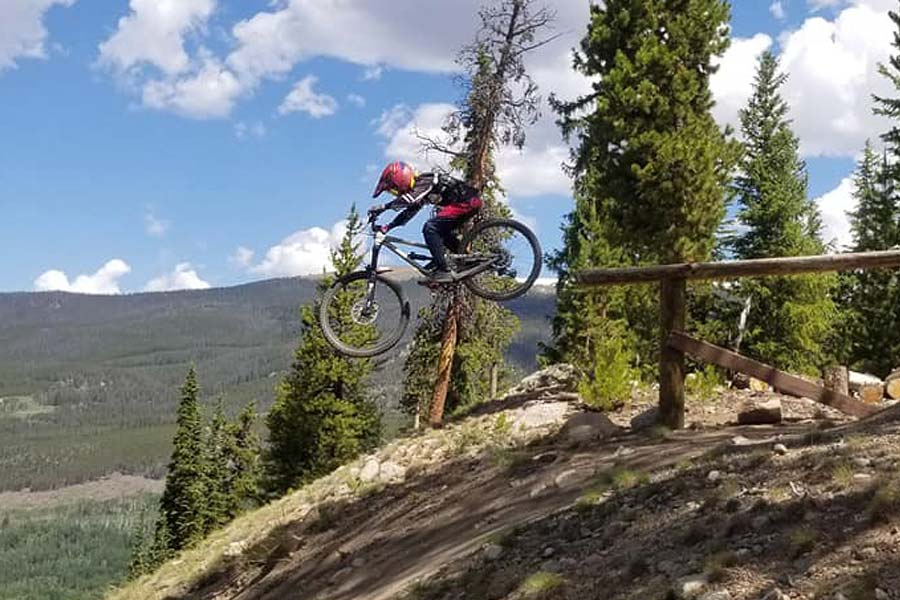 Commencal Clash Jr. in Keystone, Colorado