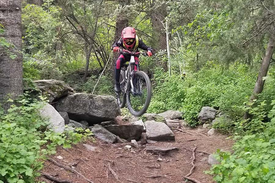 Commencal Clash Jr. review - technical terrain