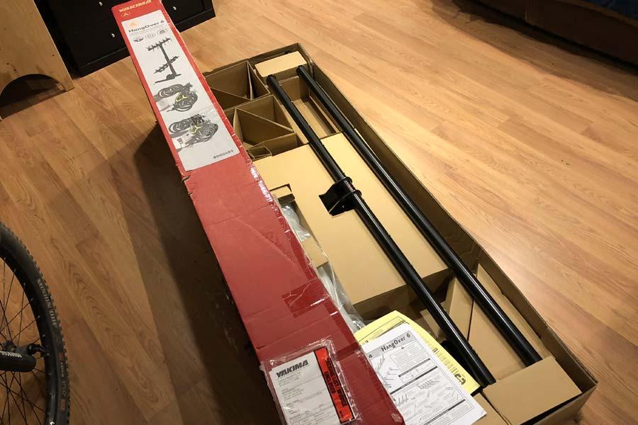 Yakima Hangover 6 - open box