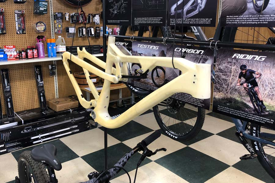 Fezzari frame prototype / model