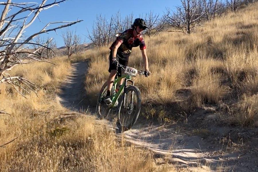 MTB race on the Fezzari Solitude