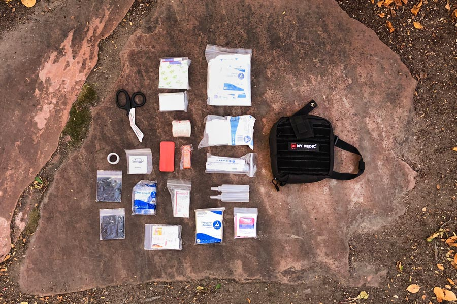 MyMedic first aid kit review for mountain bikers