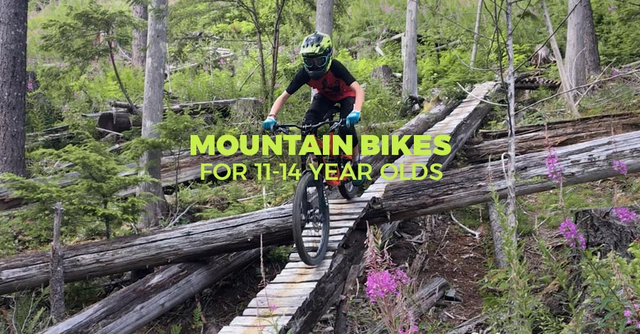 Best mountain bikes for 11-14 year old boys and girls