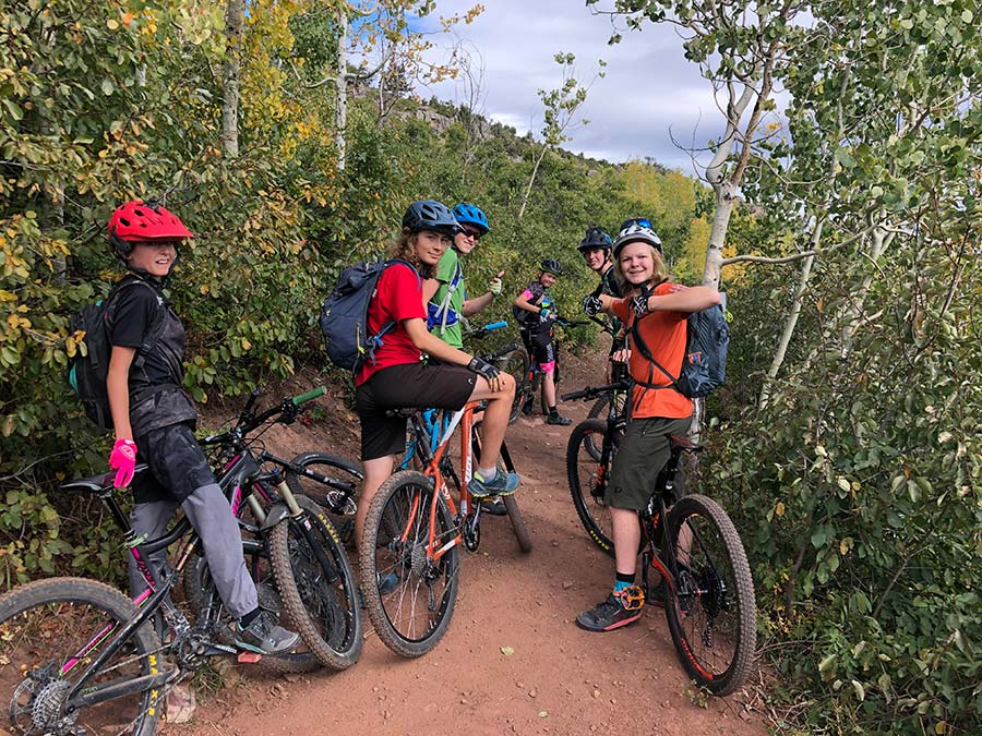 experinces gifts mountain biking with kids