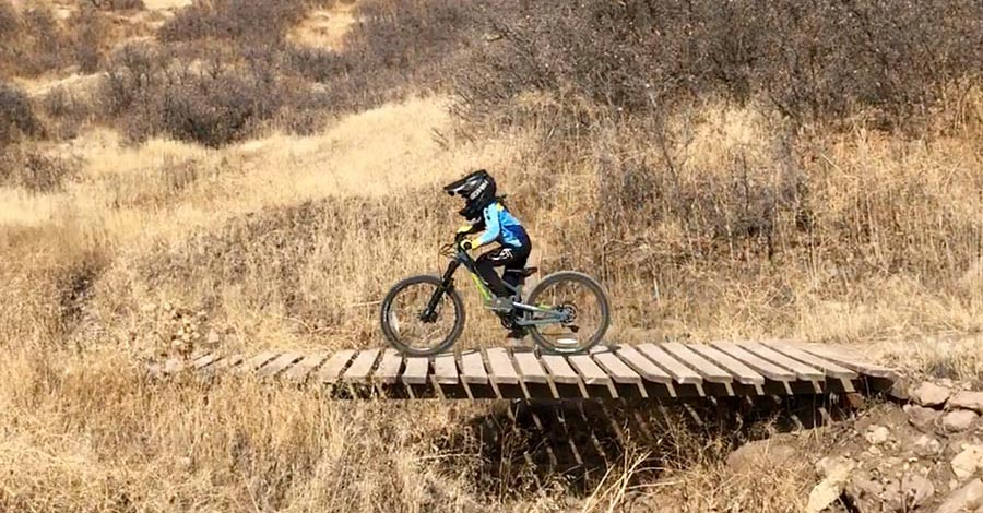 Riding the Norco Fluid 24