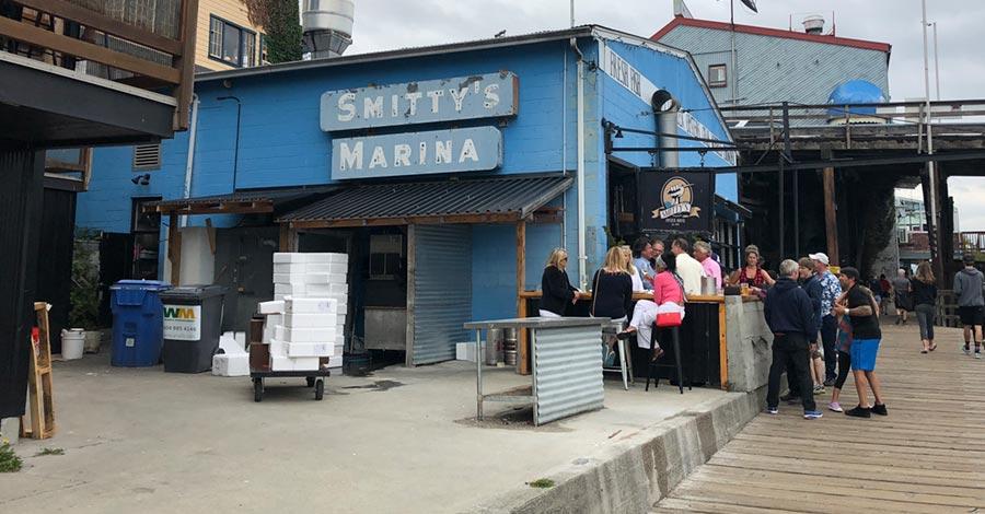 Smitty's Marina - seafood restaurant