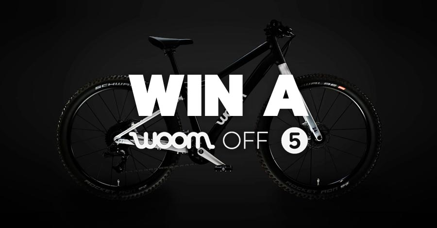 win a kids mountain bike woom off 5