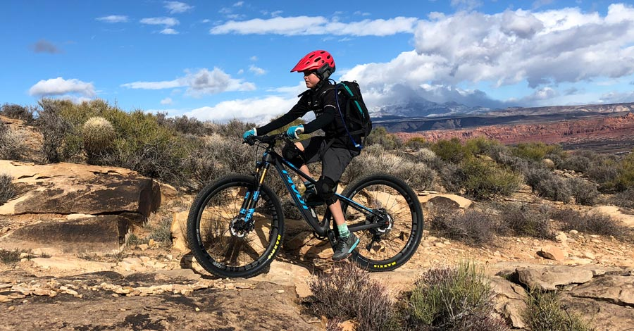 Best mountain bike trails for kids and families in St. George, Utah