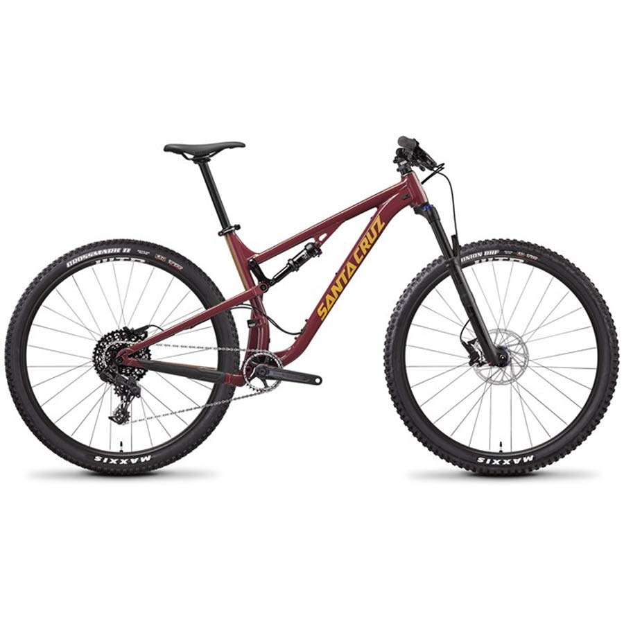 santa cruz tallboy a d complete mountain bike