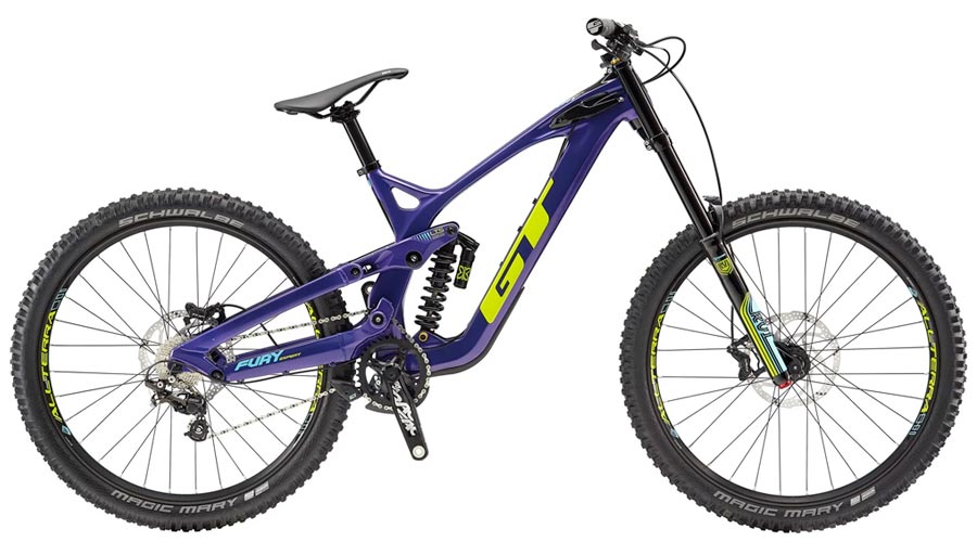 GT Fury - Downhill bike for kids and teens