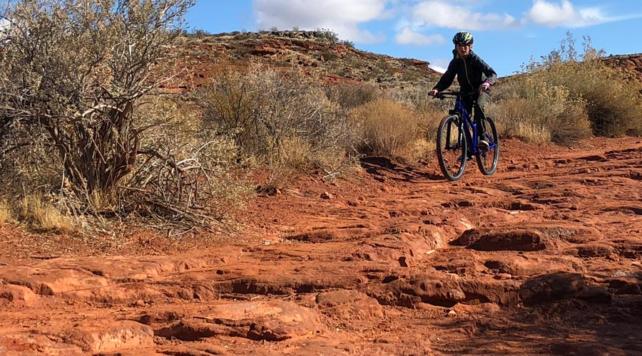 This 24 inch mountain bike for kids doesn't shy away from rough terrain.