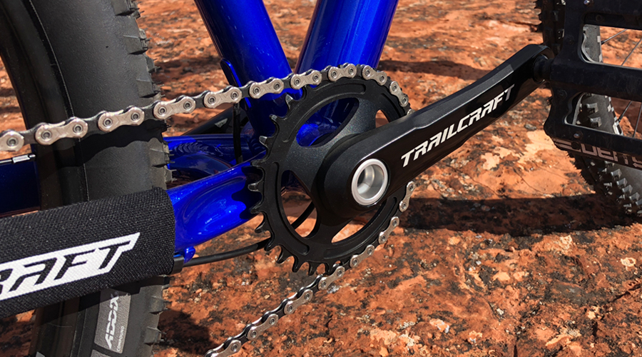 Chainring and crank - Trailcraft Timber 26