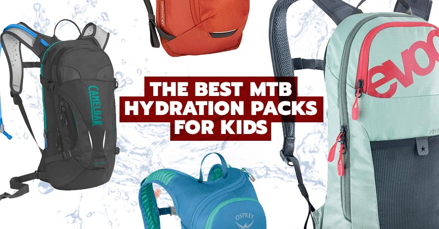 The Best Hydration Packs for MTB Kids
