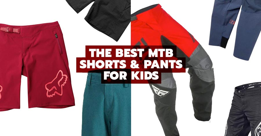 The best mountain biking shorts and pants for kids