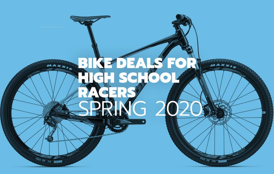 Best deals for NICA and high school mountain bikers