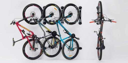 Steadyrack system for mountain bikes