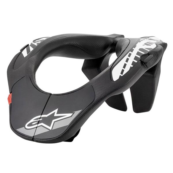 AlpineStars mountain biking neck brace for kids