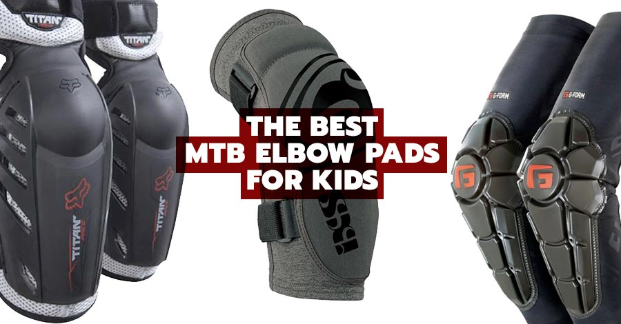 The best mountain biking elbow pads for kids
