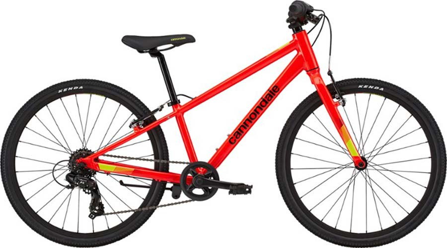 "24"" wheel kids bike cannondale quick"