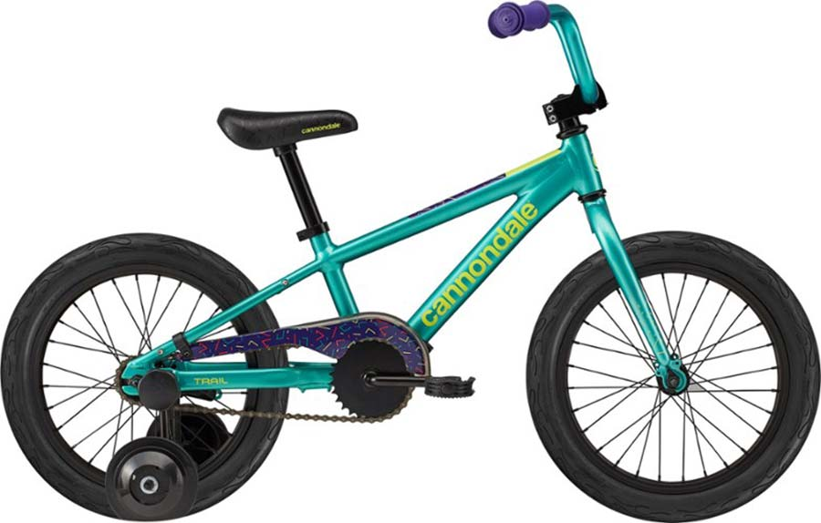 cannondale trail 16-inch wheel bike