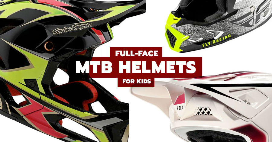 Best full-face mountain biking helmets for kids