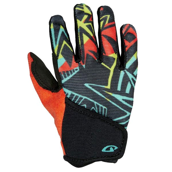 Giro mountain biking gloves for kids