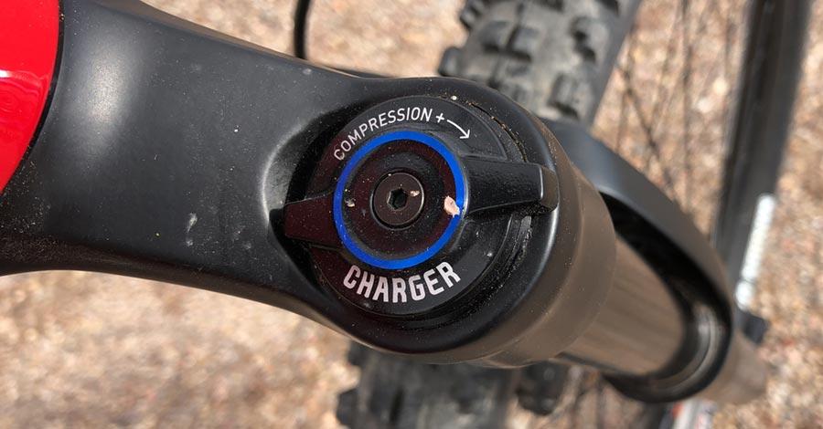 Compression adjustment knob, Pike fork - Norco Sight 27.5