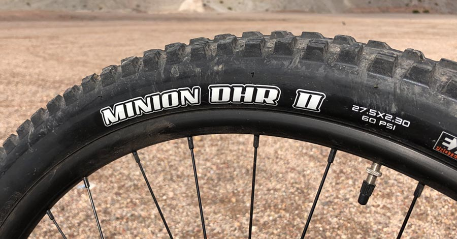 Those Maxxis Minion tires tho!
