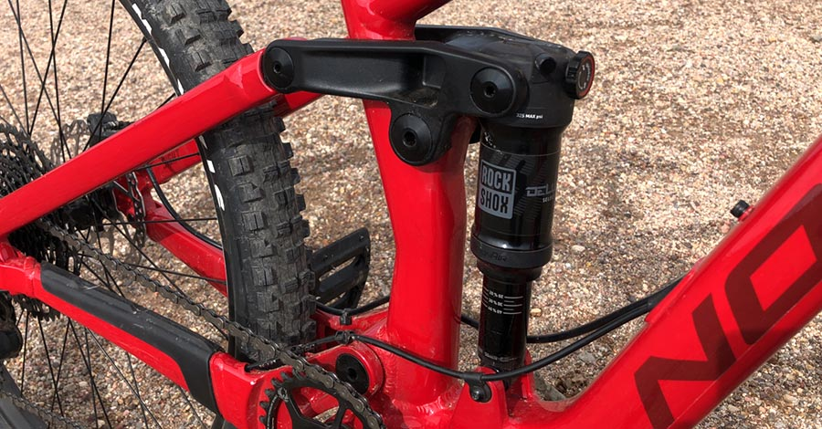 RockShox shock and linkage - Norco Sight 27.5