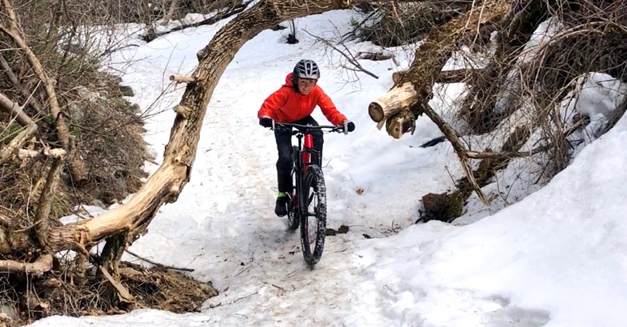 Norco Sight 27.5 review - enjoying the last of the snow