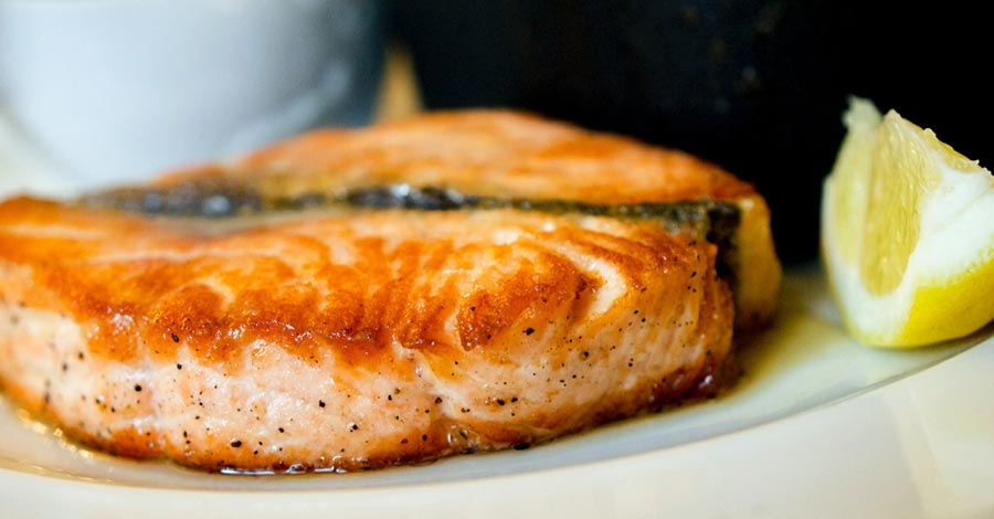 Choose salmon for healthy fats