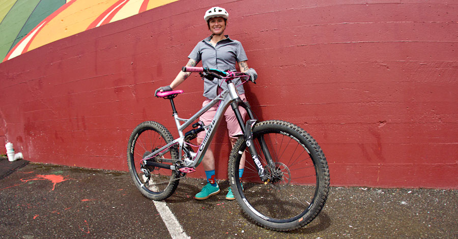 Ashely and her Canfield Balance 27.5