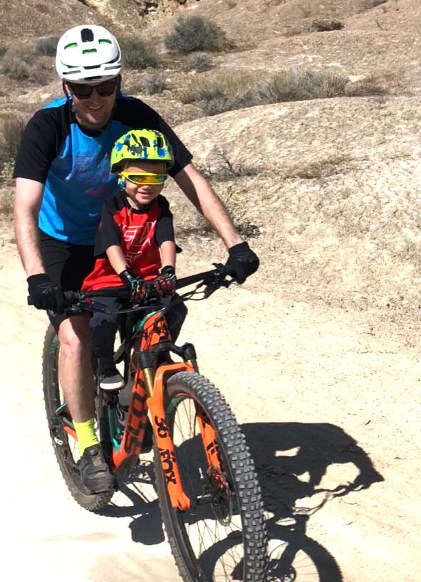 Ben Bowen and son
