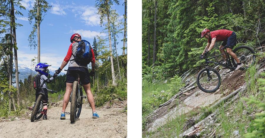 Devin Featherstone - a mountain biking dad