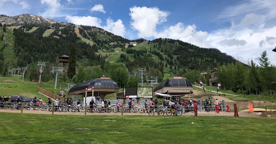 Jackson Hole Bike Park - laps of family-friendly mtb fun