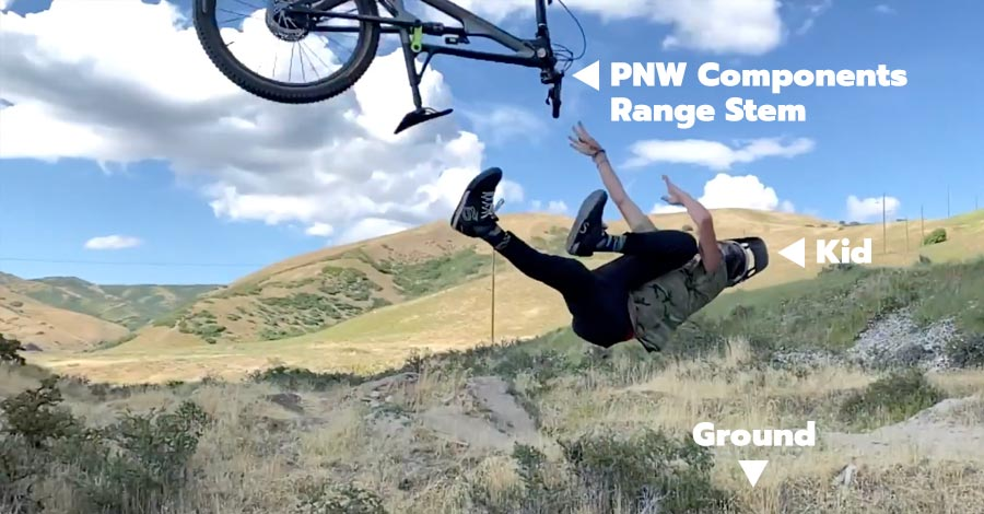 Durability testing with the PNW Components Range Stem