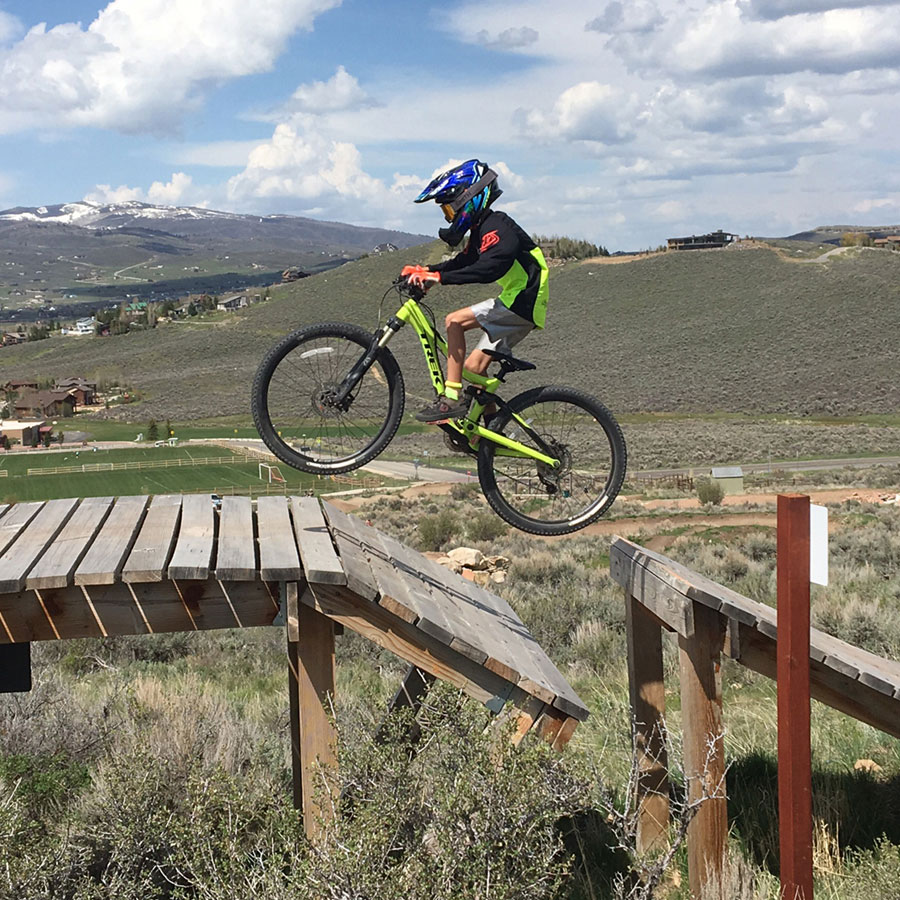 Trailside bike park - Park City family mountain biking