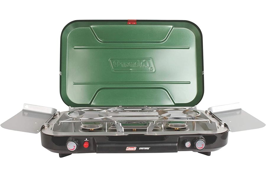 Coleman 3-burner stove