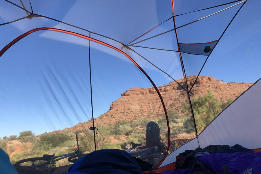 A tent with a view - the Marmot Limestone 6-person tent
