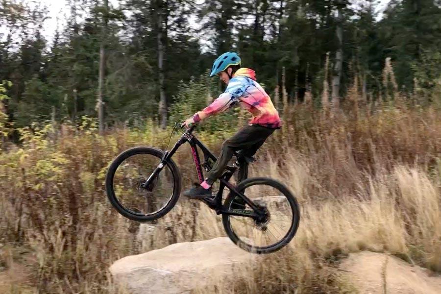 Cedar Dust Jump Lines - Gabraith Mountain - Bellingham