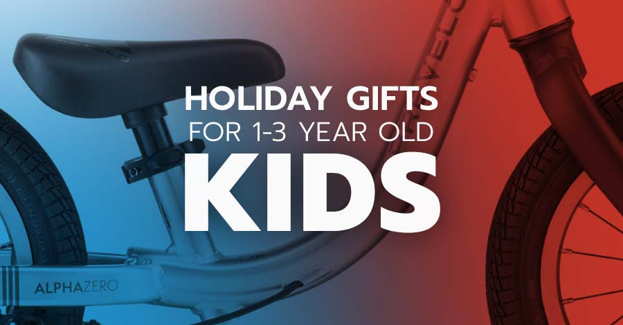 Cycling and mountain biking gifts for kids 1-3 years old