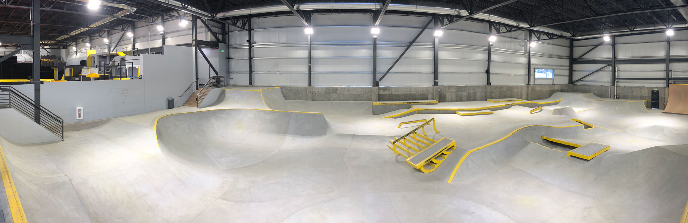 Woodward Park City's indoor bike and skate park