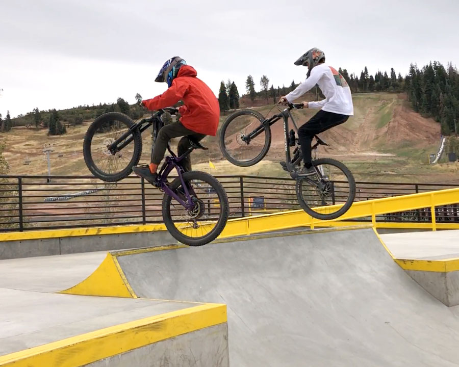 Synchronized fun at Woodward Park City