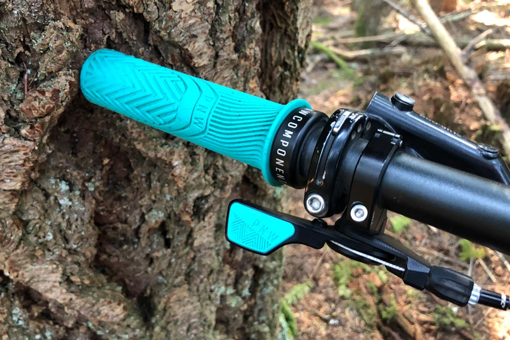 PNW Components Loam Grips and Dropper Lever