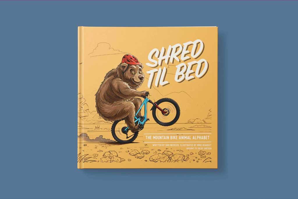 Shred Til Bed - Cover