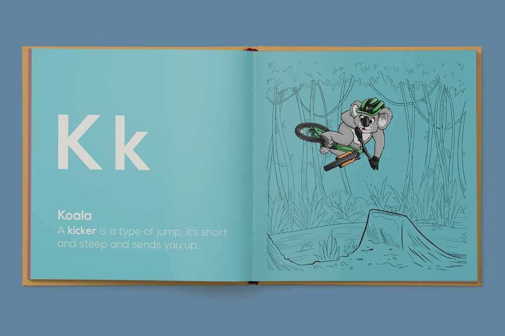 Shred Til Bed book - Kk