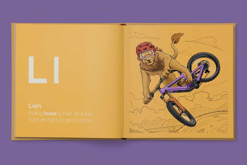 Ll - Shred Til Bed book from Kids Ride Shotgun