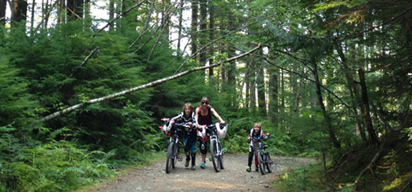 Tips for riding and mountain biking with kids