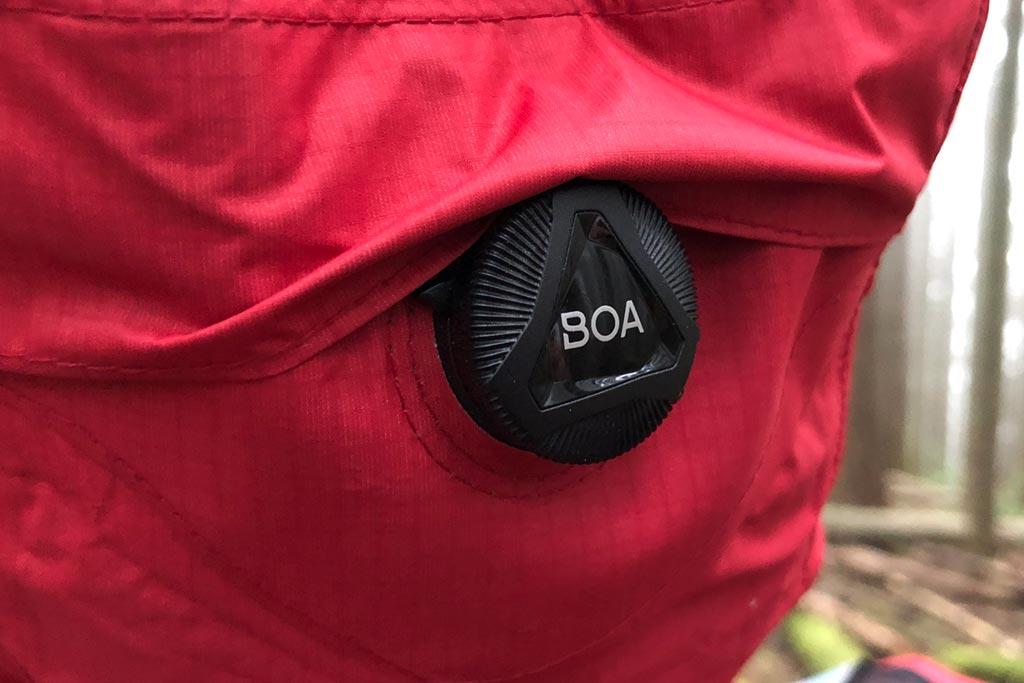 BOA hood adjustment system - Bontrager Avert Women's Rain Jacket