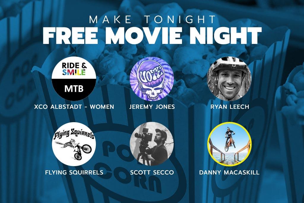 Free MTB Movie Night - Dec 13, 2020